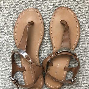 Tommy Hilfiger Tan Sandals